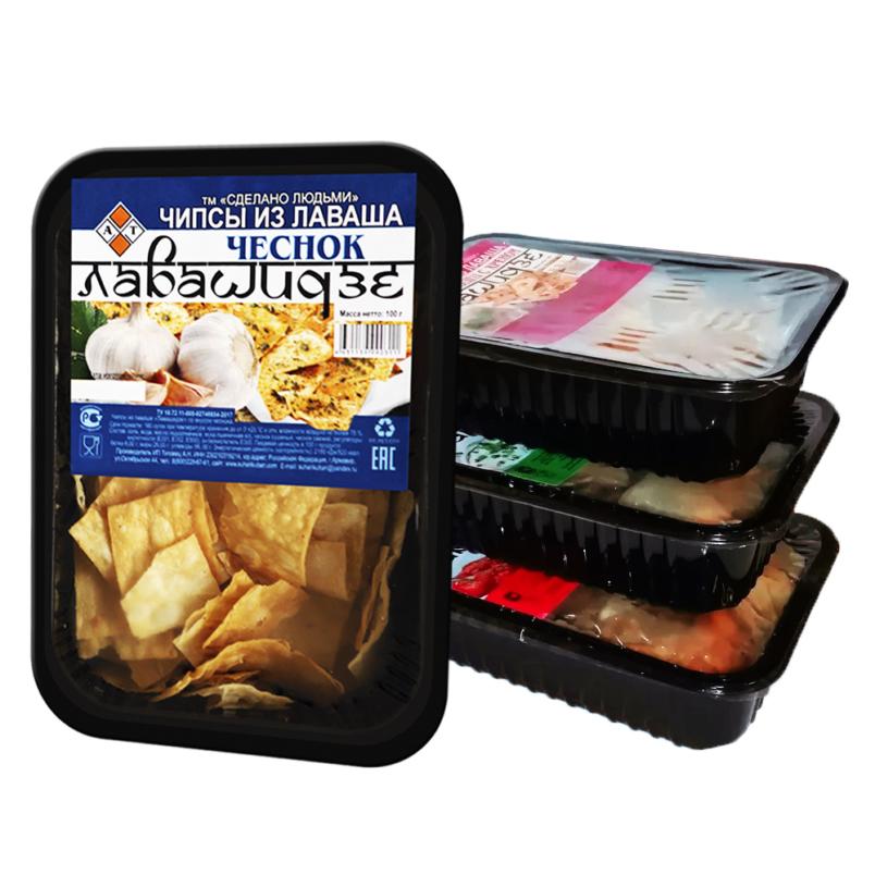 Лавашные чипсы Лавашидзе в ассортименте