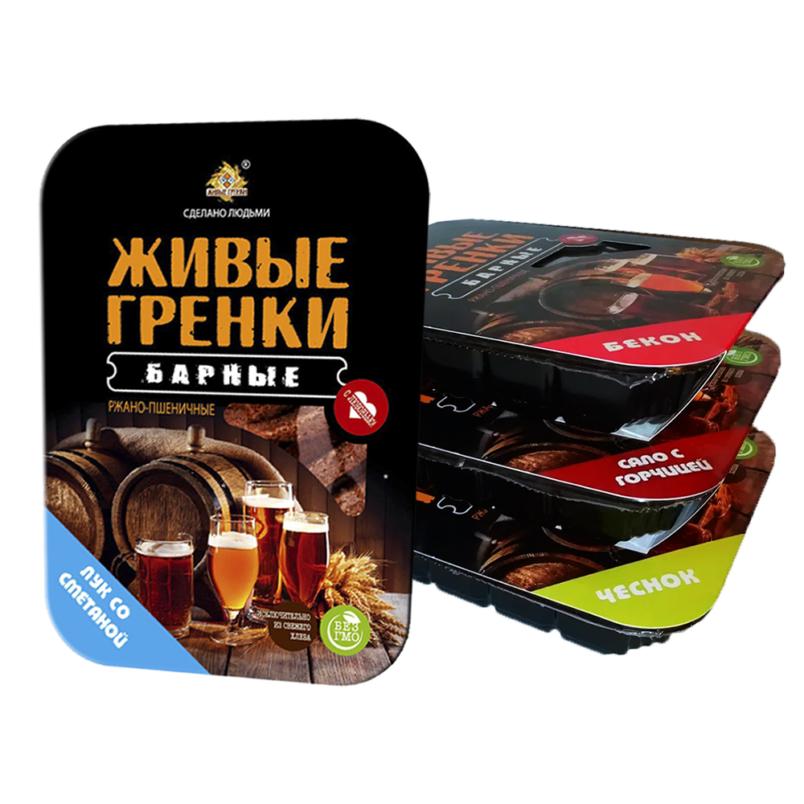 Живые гренки Барные (контейнер 100 г)