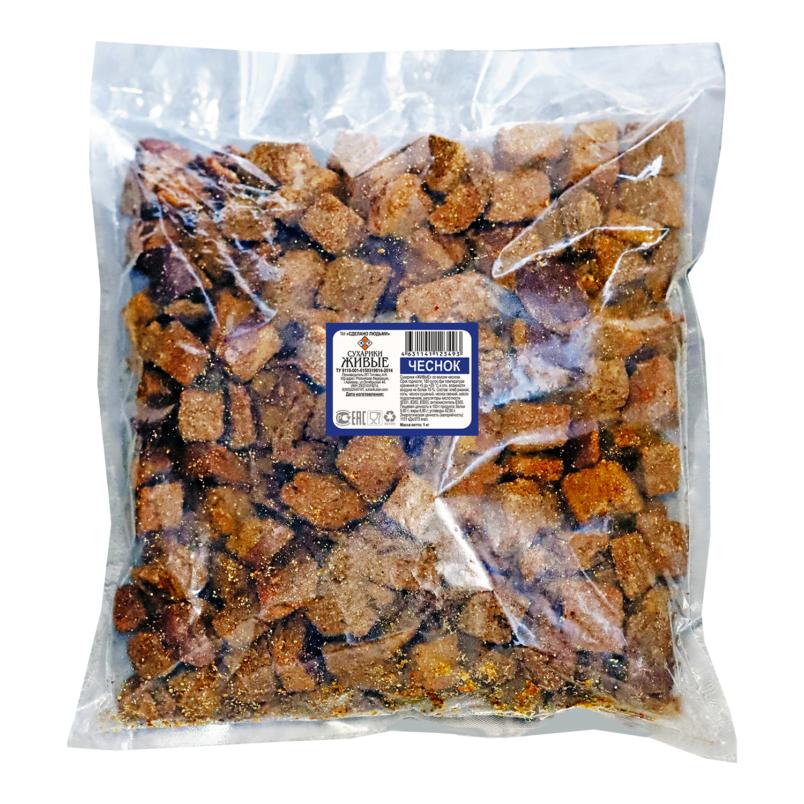 Сухарики ржаные в пакете 1 кг