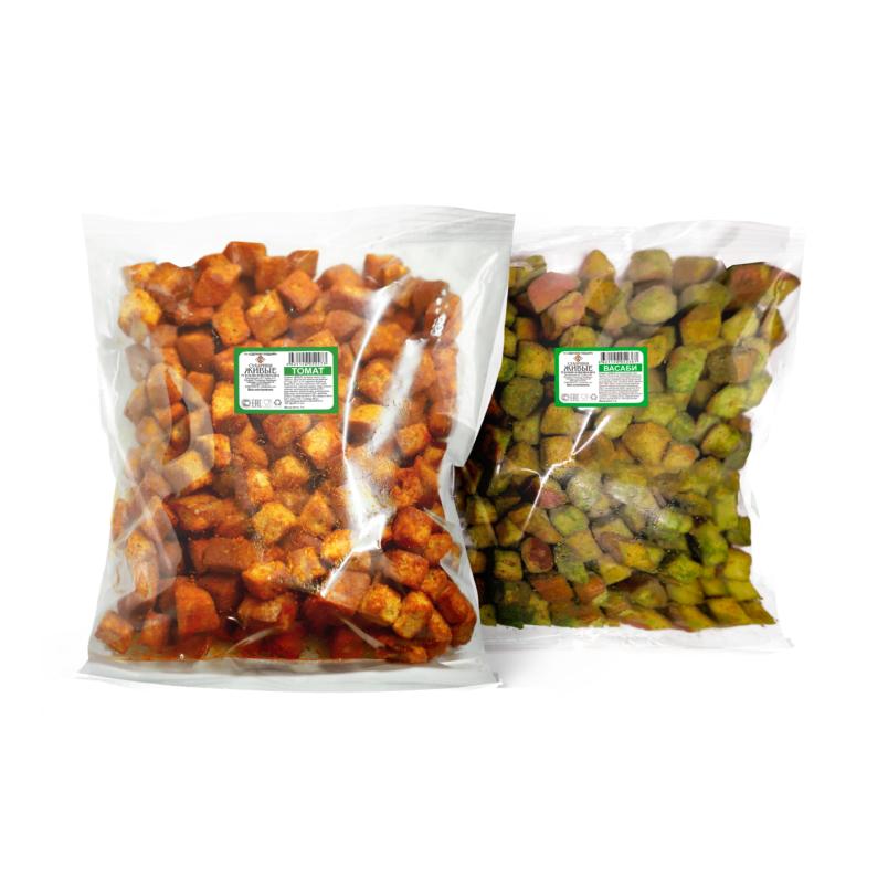 Сухарики пшеничные в пакете 1 кг в ассортименте